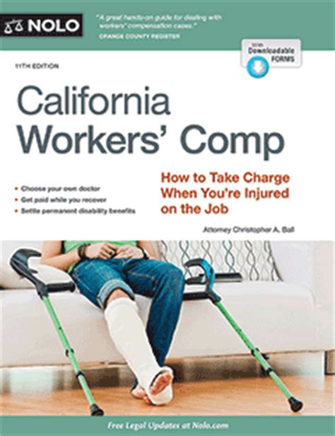 California Workers Compensation Search California Workers Comp Book For Work Injuries Nolo