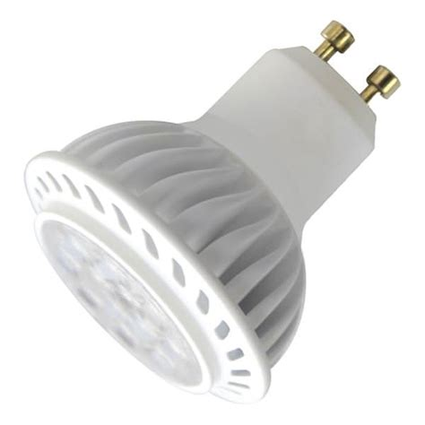 twist and lock led light bulbs litetronics 68880 6w mr16 gu10 120v fl 4000k 25 000h dim