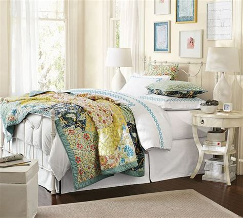 Pottery Barn Scalloped Organic Patchwork Quilt - scalloped organic patchwork quilt sham pottery barn