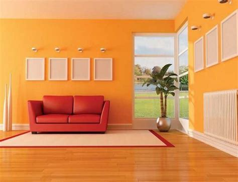 dekorasi ruangan  menggunakan cat warna warni