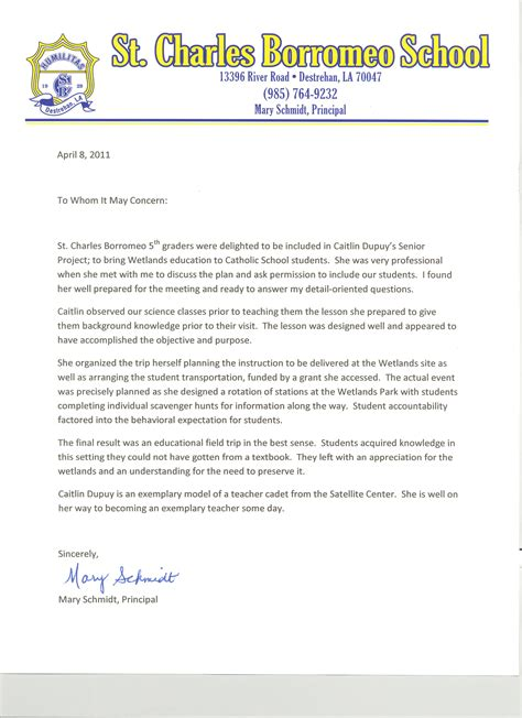 Letter Of Recommendation Principal letter of recommendation for principal free resumes tips