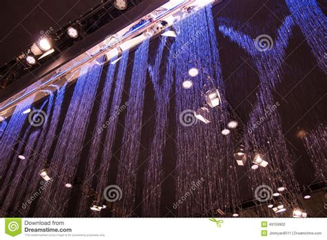 water curtain system principle water curtain system stock photo image 49159902