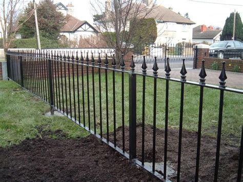 top 28 metal fencing costs 2018 aluminum fence cost aluminum fence cost estimator wrought