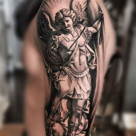 michael archangel tattoo designs 95 best michael tattoos designs meanings 2019