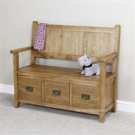 hall shoe bench cheshire oak monks bench hall seating shoe storage