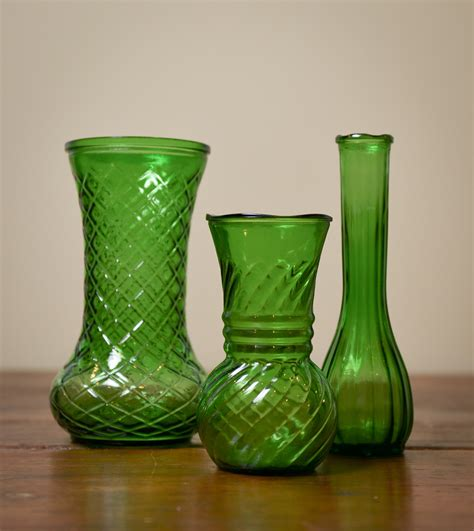 glass vase vases design ideas green glass vases express your decor