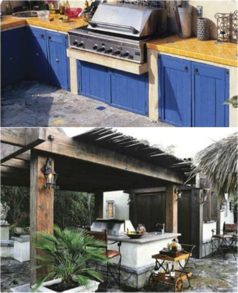outdoor kitchen ideas diy 2018 15 amazing diy outdoor kitchen plans you can build on a budget diy crafts