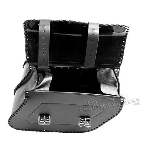 Handmade Leather Saddlebags - top quality motorcycle handmade leather saddlebags