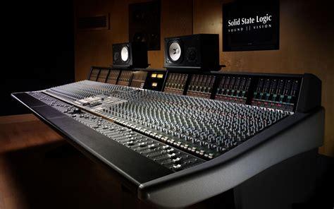 Solid State Logic X Desk Music Studio Wallpaper 889725