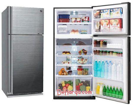 Gambar Kulkas Sharp 2 Pintu daftar harga kulkas sharp lemari es 1 2 pintu termurah
