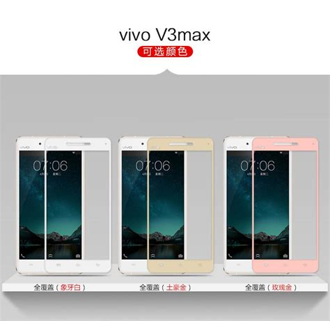 Tempered Glass Clear Fashion Vivo V3 Max vivo v3max v3 max screen tempere end 5 6 2018 9 15 pm