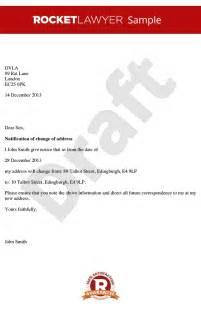 Business Letter Format For Address Change letter format for change of address best letter examples