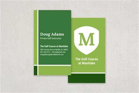 golf business card template golf business card template inkd