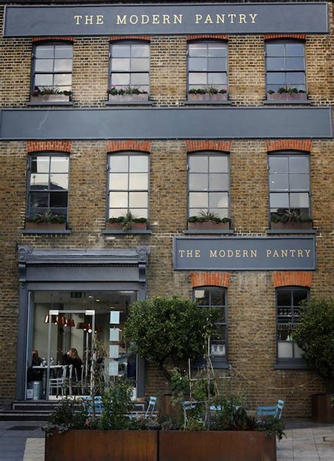 Modern Pantry Clerkenwell by The Best Alfresco Restaurants For Outdoor Dining In