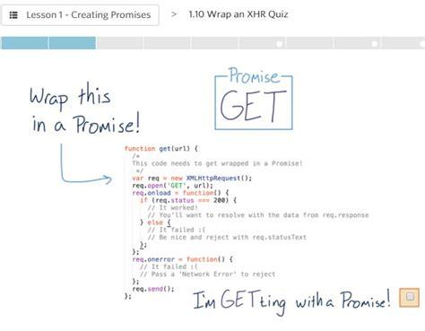 tutorial javascript promise javascript promises free udacity course