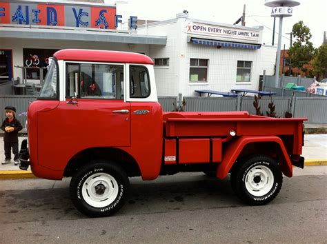 jeep fc 150 red jeep fc 150 megadeluxe for the love of speed