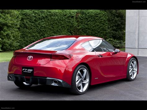 86 Toyota Diesel Toyota Ft 86 Concept Car Wallpaper 03 Of 12