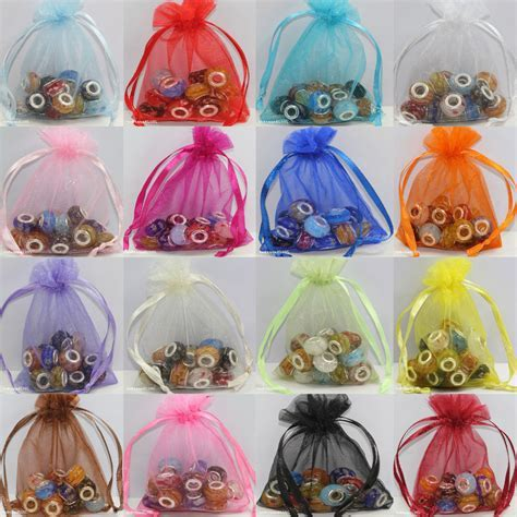 Wholesale Organza Jewelry Packing Pouch Wedding Favor