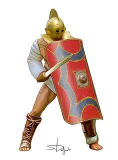 macromedia dreamweaver tutorial romana angus mcbride gladiators roman empire pinterest