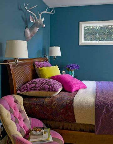 blue and purple room purple accents with blue walls girls bedroom ideas