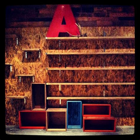 Wood For Kitchen Cabinets akkolade shoe wall reclaimed wood amp osb portfolio by