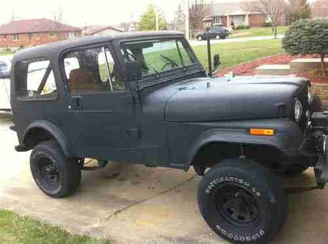 82 Jeep Cj7 Sell Used Jeep Cj7 82 Cj Wrangler Renegade 4x4 Top