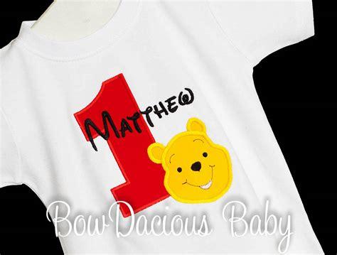 Custom Winnie The Pooh pooh birthday shirt winnie the pooh birthday shirt