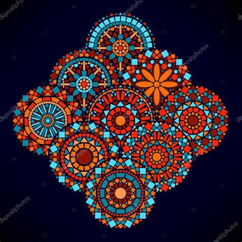 imagenes de mandalas coloridas mandalas de flores coloridos c 237 rculo geom 233 tricos en la