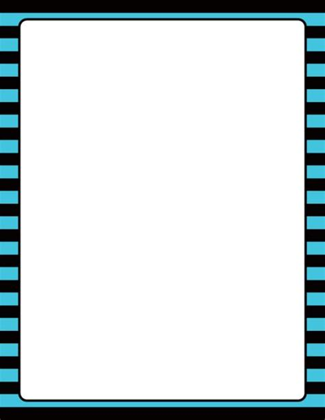 printable blue striped border use the border in printable blue and black striped border use the border in microsoft word or other programs for