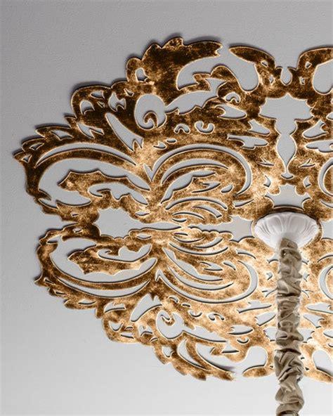12 unique creative ideas for ceiling medallions