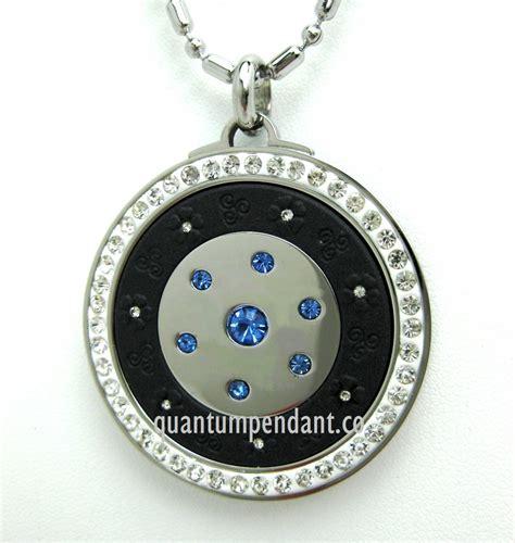 qp12b quantum pendant scalar energy limited edition blue
