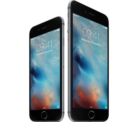 mkqj2b a apple iphone 6s 16 gb space grey currys pc world business