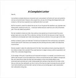Then Template by Letter Of Complaint Template 10 Free Word Pdf