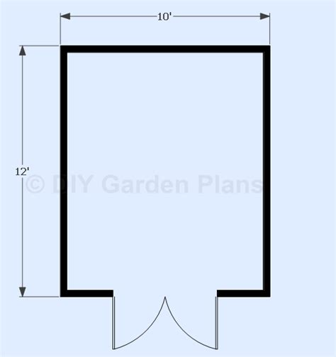 Free 10x12 Gambrel Shed Plans by Scle 12 X12 Shed Plans 6x8