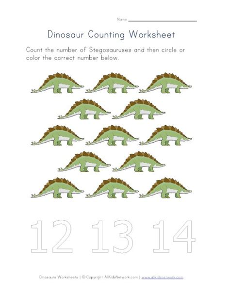 Dinosaur Worksheets by The World S Catalog Of Ideas