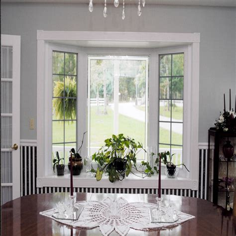 bay window decor bay window decorating for household the comfortable home