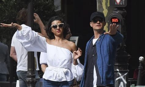 orlando bloom and khatia buniatishvili orlando bloom published a photo with khatia buniatishvili