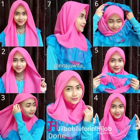 tutorial hijab simple tapi modis tutorial hijab simple segi empat paris 5 tutorial hijab