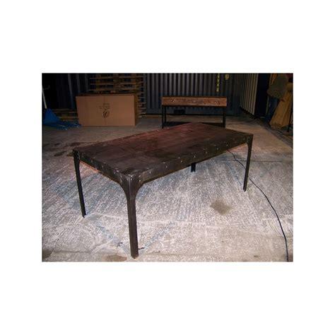Table En Fer Industriel table en fer style industriel