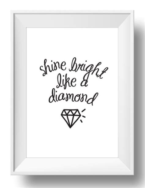 the prints world shine bright like a diamond art prints the chic party boutique wall art