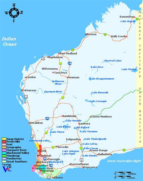 Western Australia Search Western Australia Wine Regions