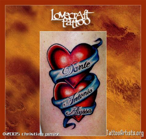 two hearts tattoo artists org