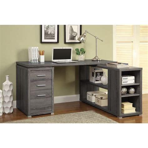 reversible l shaped desk best 25 office desks ideas on diy office desk