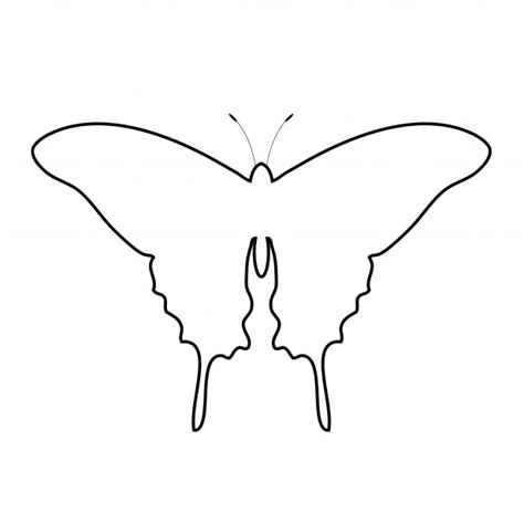 Butterflies Images Outline by Clipart On Digital Sts Butterflies And Clip