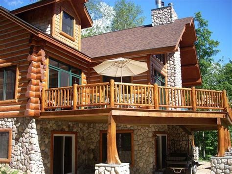 log siding for mobile homes in wv image result for cedar deck designs log cabin cabin deck