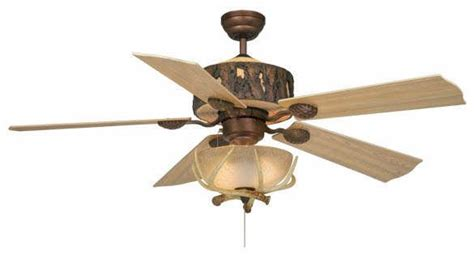 cabin ceiling fans with lights vaxcel log cabin ceiling fan cast resin rustic