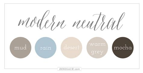 modern colour schemes color palettes dinosaur stew