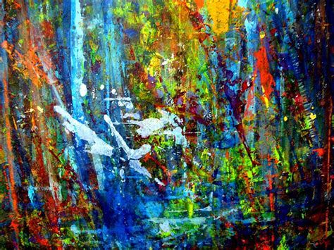 acrylic painting jungle jungle boogie 130504 4 painting by aquira kusume