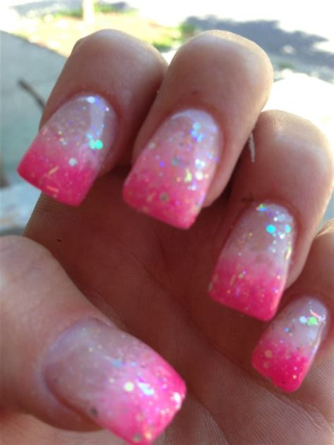 white gold with glitter tips nails 15 best images about mom s nail work on pinterest hot