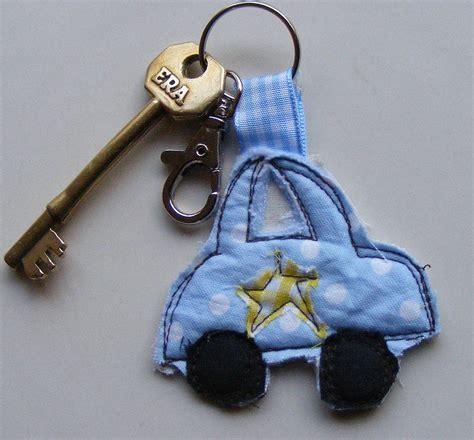 Handmade Fabric Keyrings - handmade fabric key rings by katy kirkham designs